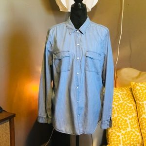 Old Navy Blue Jean shirt